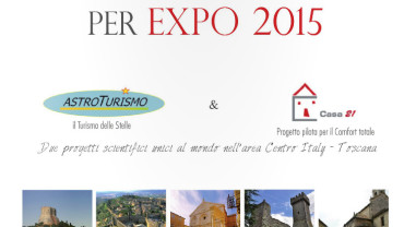 Val d'Orcia per EXPO 2015 Astroturismo e Casa21