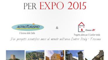 Val d'Orcia per EXPO 2015 Astroturismo e Casa21